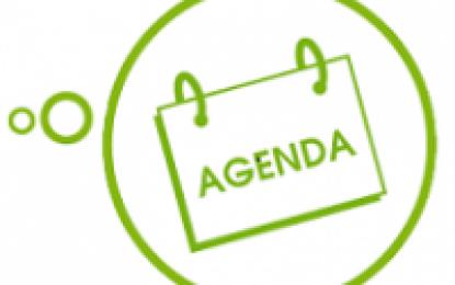 Agenda de la semaine du 01/04 au 05/04