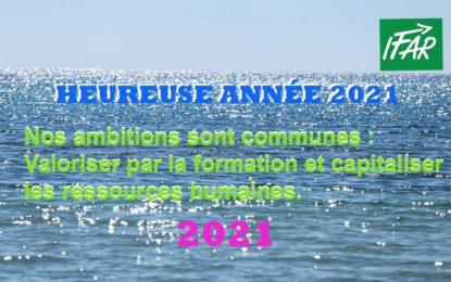 HEUREUSE ANNÉE 2021